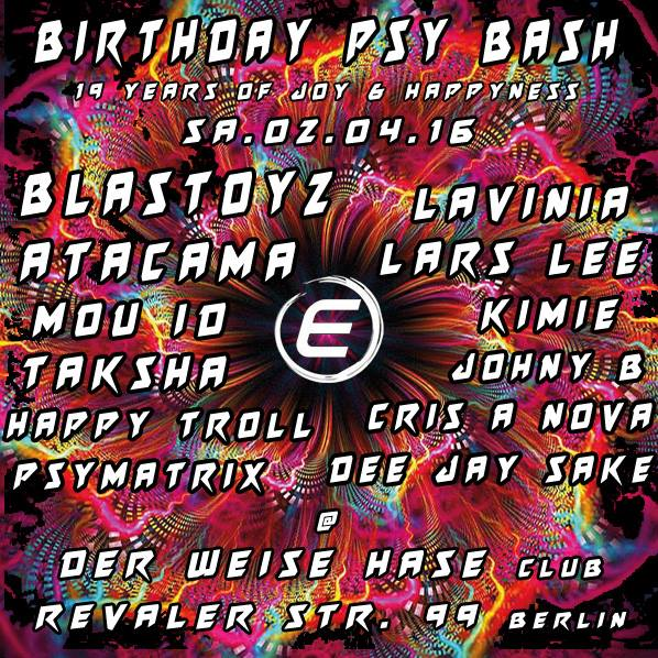 birthday psy bash